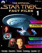 Star Trek Fact Files Part 1 cover