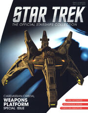 Star Trek Official Starships Collection Cardassian Orbital Weapons Platform cover