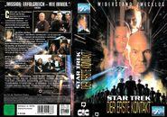 Star Trek VIII (Kinofassung - Kauf-VHS Cover-Art)