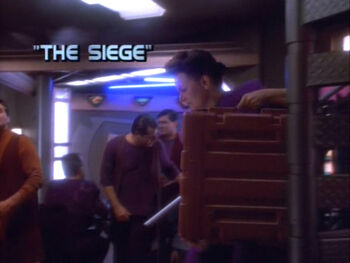 The Siege title card