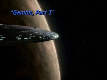 Gambit, Part I title card