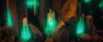 Cristal de tiempo en bruto Monasterio Klingon Boreth DIS Through the Valley of Shadows