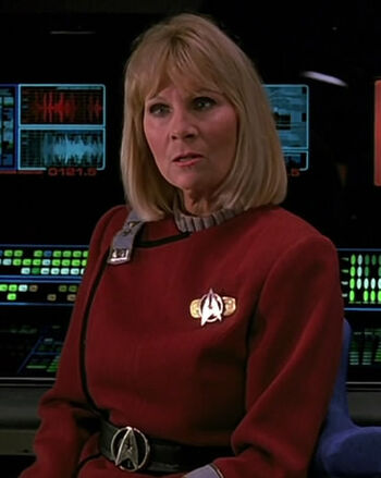 "Lt. JG Janice Rand in <a href=""/wiki/2293"" title=""2293"">2293</a>"