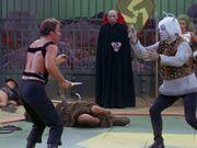 Kirk kämpft auf Triskelion
