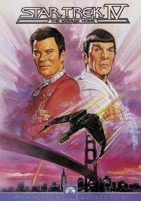 Star Trek IV The Voyage Home DVD cover