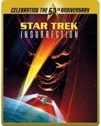 Star Trek Insurrection Blu-ray cover Region B steelbook reissue
