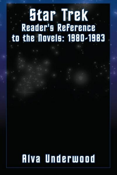Star Trek Readers Reference to the Novels 1980-1983