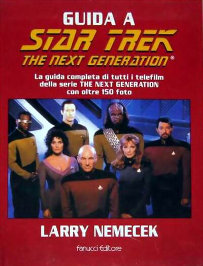 Star Trek The Next Generation Companion E2 Italien