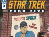 Star Trek: Year Five, Issue 4