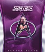 TNG Season 7 Blu-ray cover