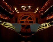 Zek's shuttle, bridge