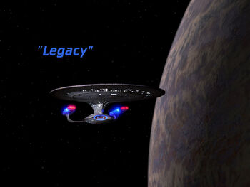 Legacy title card
