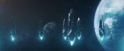 Ba'ul sentry ships