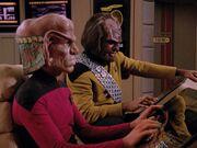 Ferengi an der OPS der Enterprise-D