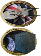Hamilton Collections Star Trek First Contact Sculptural Plate Collection