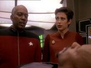 Sisko berichtet von Heuschrecken