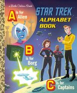 Star Trek ABC Book cover