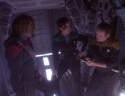 Worf glaubt nicht an ein Überleben Muniz'