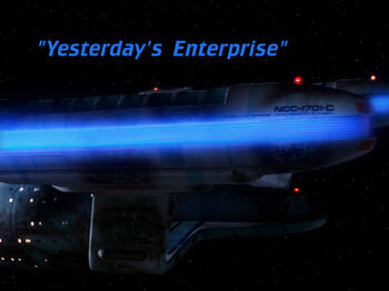 Yesterday's Enterprise title card