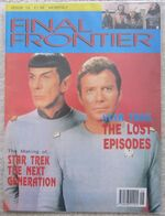 Final Frontier issue 13 cover