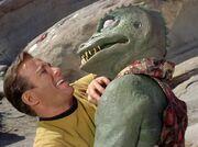 Kirk und der Gorn