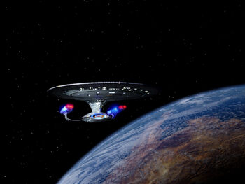 Malcor III from orbit