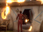 Mullibok Haus Feuer