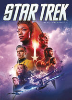 Star Trek Magazine US issue 72 PX cover