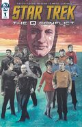 Star Trek The Q Conflict 1 cover RI B