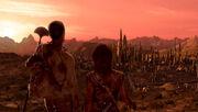 Vulkanische Stadt 2154