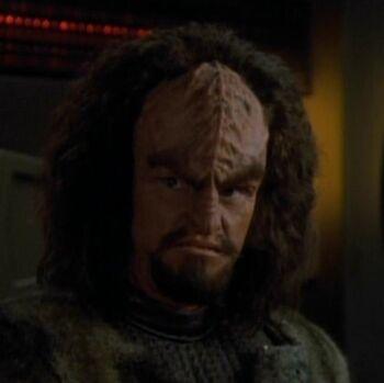 Yeto, a Klingon mercenary (2370)
