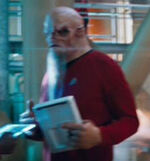 Bearded alien Enterprise crewmember