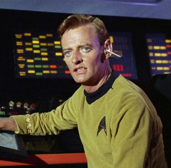 ...as Lieutenant John Farrell