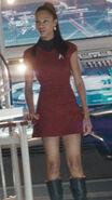 Nyota Uhura in Uniform