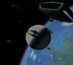 Romulan warbirds Derna