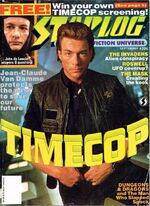 Starlog issue 206 cover