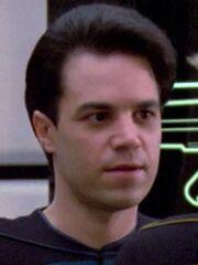 Sternenflottenoffizier Wissenschaft USS Enterprise-D 2364 Sternzeit 41209