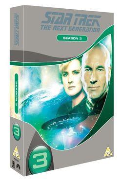 TNG Season 3 DVD-Region 2 new