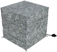 ThinkGeek Borg Cube Giant Floor Standing Paper Lantern