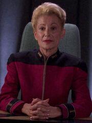 Weiblicher Admiral Hayes