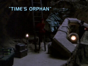 Time's Orphan title card