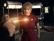 Janeway is forced to murder Kes