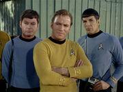McCoy Kirk Spock, 2267