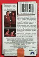 Star Trek VI Video 8 back cover