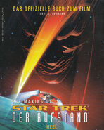 The Secrets of Star Trek Insurrection German cover