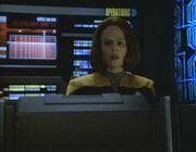 Torres übermittelt die Daten den Borg