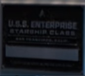 USS Enterprise (NCC-1701) dedication plaque, 2257