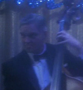 ...as the bass player