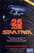25 Jahre Star Trek - Videocover CIC Deutsch