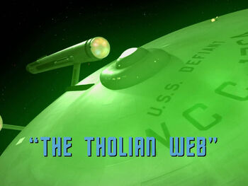 The Tholian Web title card